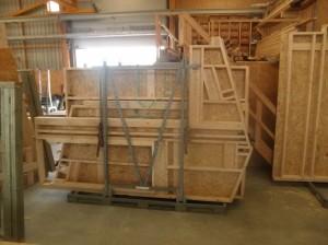 Les préparatifs ... dans L'ossature bois p3180279-300x224